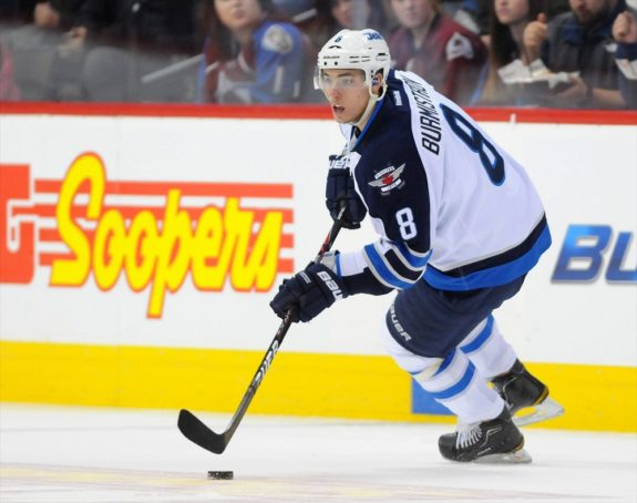 Alex Burmistrov Jets 2010 NHL Draft