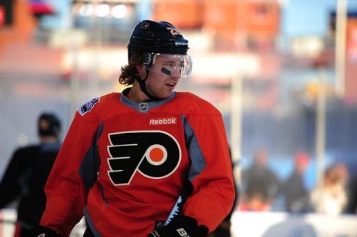 Winter Classic Coverage, Claude Giroux, Philadelphia Flyers, NHL, Milestones