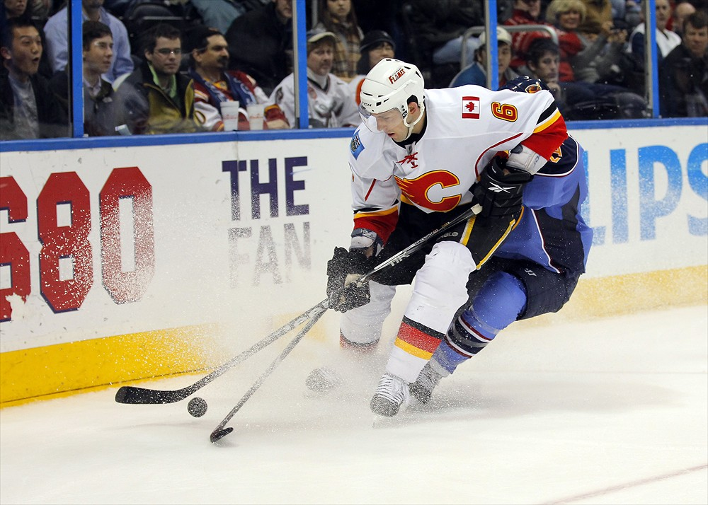Cory Sarich Flames