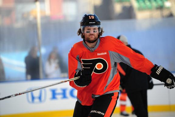Scott Hartnell, Philadelphia Flyers,