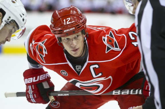 Eric Staal, Carolina Hurricanes, NHL, Hockey, Milestones