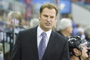 St. Louis Blues assistant coach Kirk Muller - Photo by Andy Martin