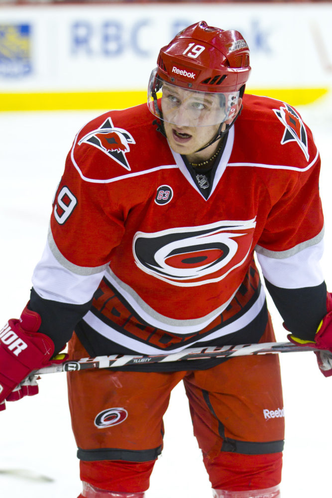 (Photo by Andy Martin Jr) Former Carolina Hurricanes winger Jiri Tlusty is one of the more surprising free-agent forwards still available based on his age and offensive ability.