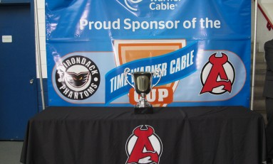 A-Devils Behind Adirondack Phantoms in Chase for Time Warner Cable Cup