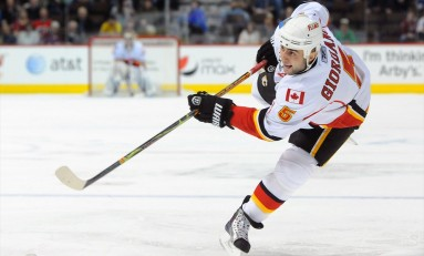 Melee Sparks Calgary Flames Hot Second Half