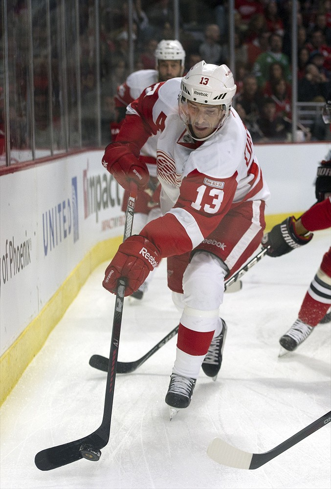 Pavel Datsyuk Red Wings