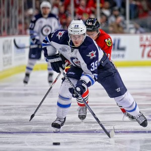 Winnipeg Jets defenseman Tobias Enstrom