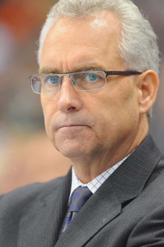 Tom Renney Coach Oilers