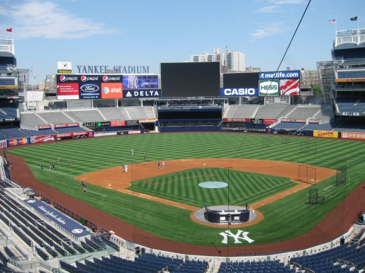 Yankee Stadium will be the host of an outdoor game between the Islanders and Rangers on January 29, 2014. (photo courtesy of the New York Yankees)