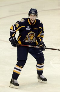 Gormley was dealt to the Cataractes at the OHL trade deadline (Courtesy: David Connell)