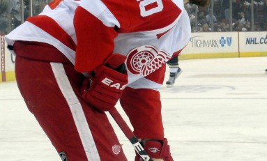 Red Wings Stars Tease Detroit From Overseas