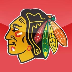 Blackhawks Logo Red