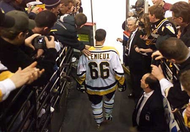 Did number 66 do enough Pittsburgh? (Photo courtesy of the Pittsburgh Penguins)