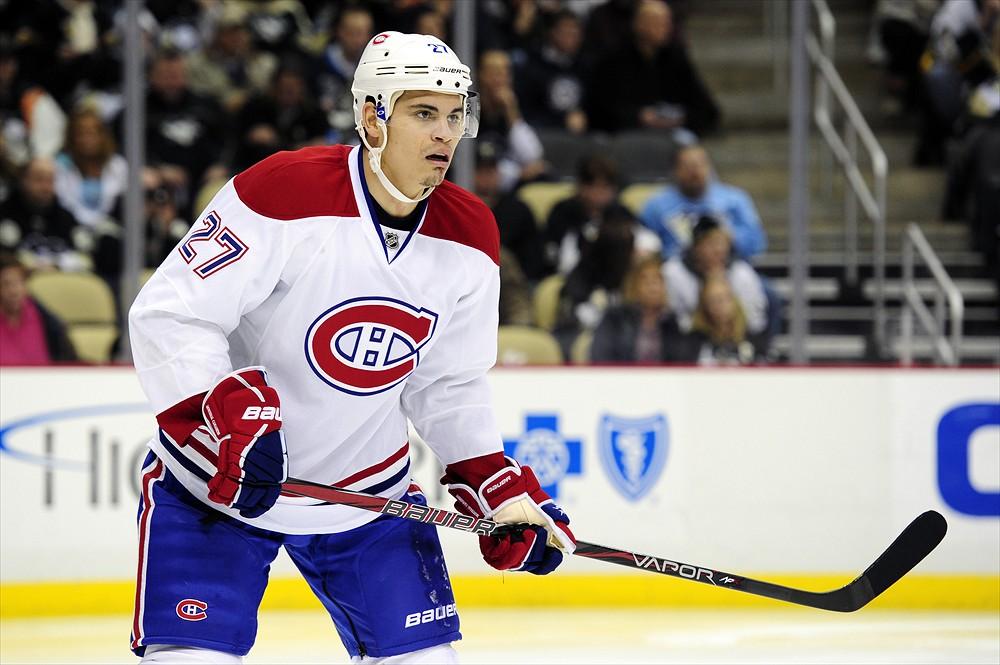 Rene Bourque Canadiens habs