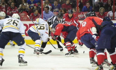 Sabres Beat Caps in D.C., Playoffs Inching Farther Away for Washington