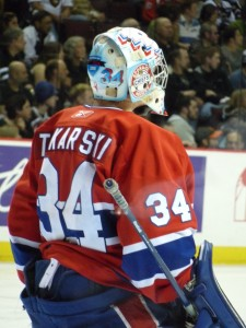 Current-Montreal Canadiens goalie Dustin Tokarski