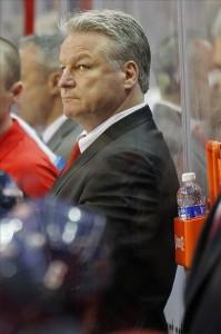 Dale Hunter Capitals coach