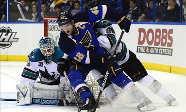 Video: Injuries Mount in Blues' Overtime Loss to Senators