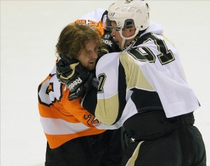Claude Giroux and Sidney Crosby have had their battles. The two now vie for being called the league's best player.