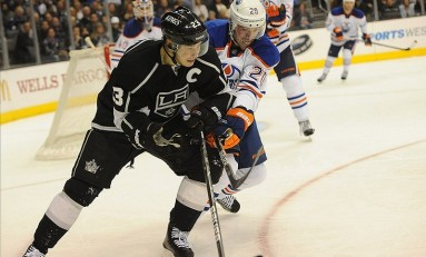 Richard Bachman Strong in Oilers Loss to Kings