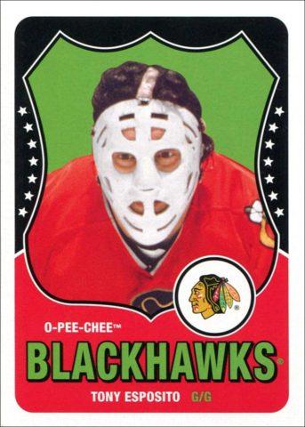 Tony Esposito's Goalie Mask