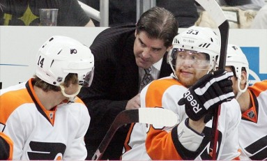 Philadelphia Flyers: Fighting for Peter Laviolette