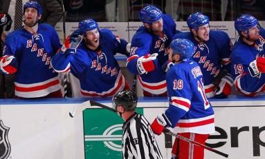 Big Apple, Big Statement: New York Rangers Will Roll Capitals