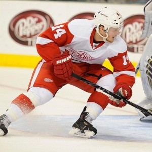 Gustav Nyquist Red Wings