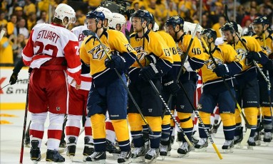 Predators, Red Wings to Play Alumni Game Feb. 28