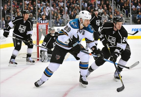 Ryane Clowe - longest hockey game
