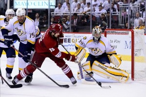 pekka rinne playoffs 2012 Lockout