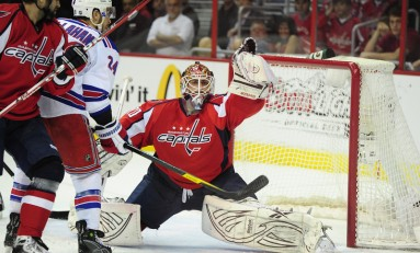 Capitals drop 2-1 Decision To Rangers