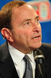 Gary Bettman (Tom Turk/THW)