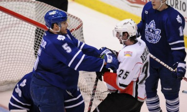 Toronto Marlies take 2-1 series lead in Abbotsford