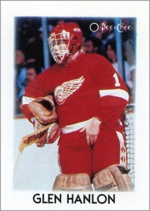 1987-88 O-Pee-Chee Leaders #14 – Glen Hanlon