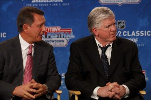 GM Ken Holland's decision making may come back to haunt him. (Rick Osentoski-US PRESSWIRE)