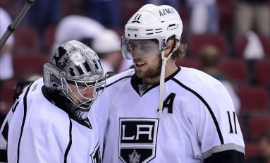 Quick and Kopitar Nominated for Individual NHL Awards
