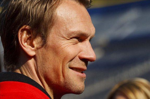 Nicklas Lidstrom of the Detroit Red Wings.