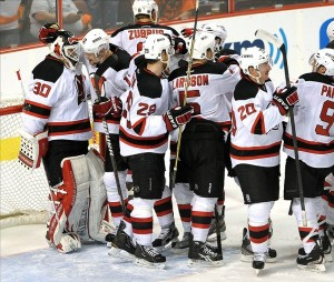 New Jersey's five-game series win in 2012 are only a sample of how they're frustrating the Flyers.