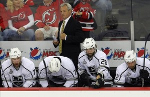 Darryl Sutter used a deep Kings team to beat the Blackhawks in last season's Western Conference Final.(Jim O'Connor-US PRESSWIRE)