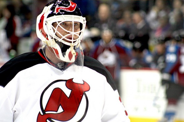 New Jersey Devils' Martin Brodeur has won only half of his starts. (Flickr/LindseyAAkiyama)