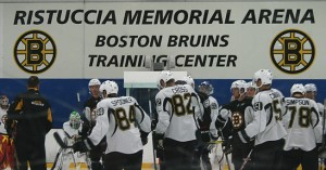 Boston Bruins Development Camp. (Photo: Bob Mand)