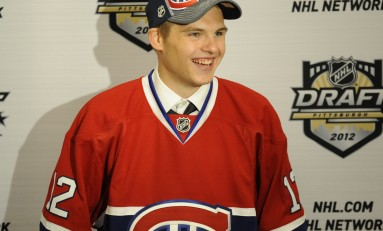 Alex Galchenyuk, Canadiens Agree to Entry-Level Contract