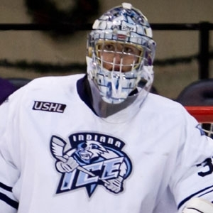 Jon Gillies will be making the jump to Providence College for the 2012-2013 hockey season after having a remarkable season with the Indiana Ice of the USHL. (USHL Images)
