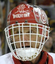 Dominik Hasek of the Detroit Red Wings