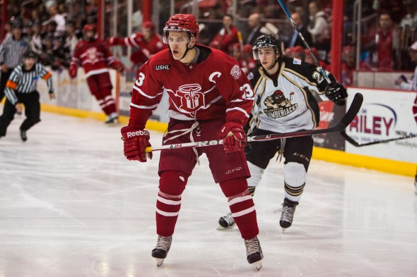 Zemgus Girgensons Dubuque Fighting Saints whl jerseys