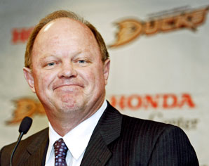 Anaheim Ducks general manager Bob Murray
