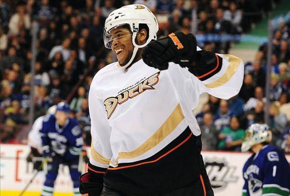 Devante Smith-Pelly, Anaheim Ducks, Washington Capitals