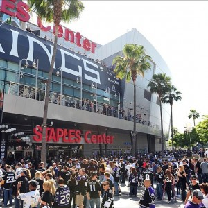 The Staples Center, home of the Los Angeles Kings. (Gary A. Vasquez-US PRESSWIRE)