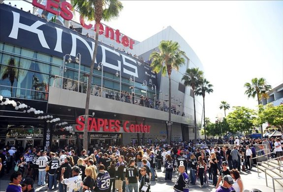 Staples Center in LA